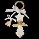 Ghirlanda-abete-oro