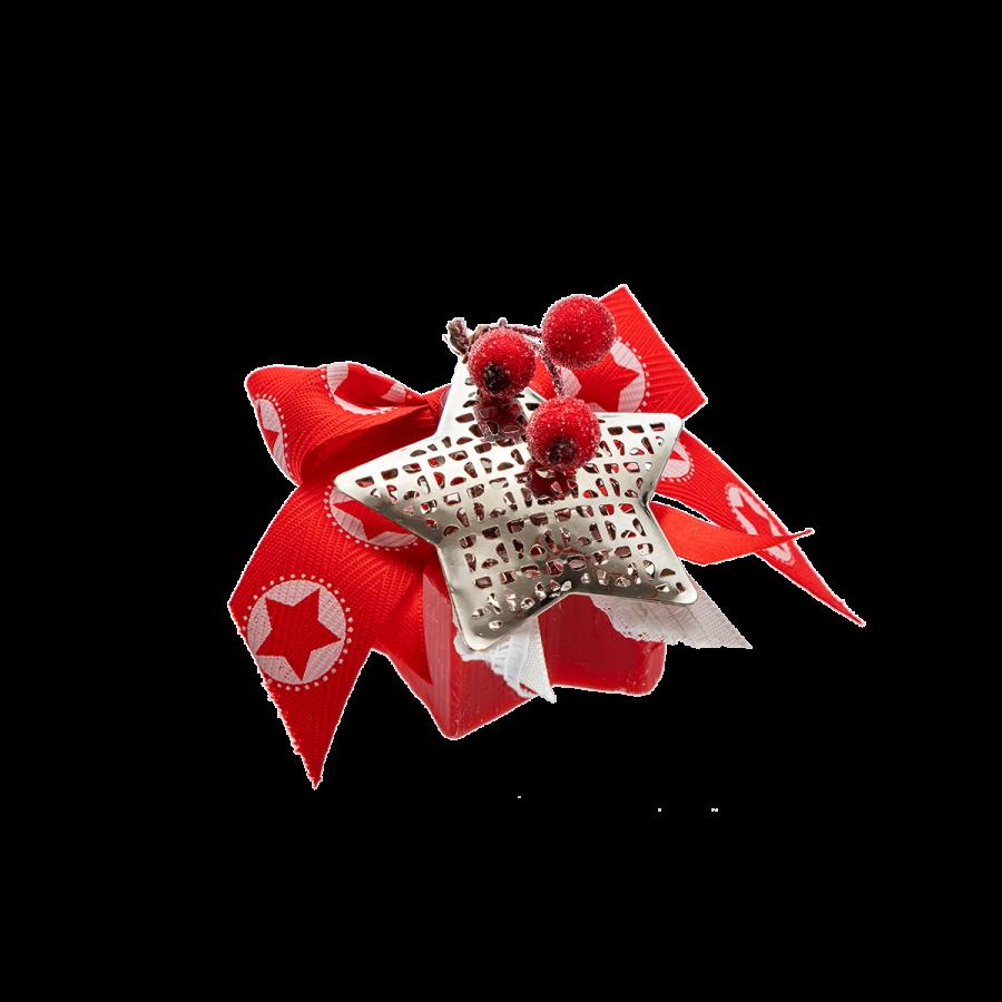 Sapone-decorato-bacche-e-stelle
